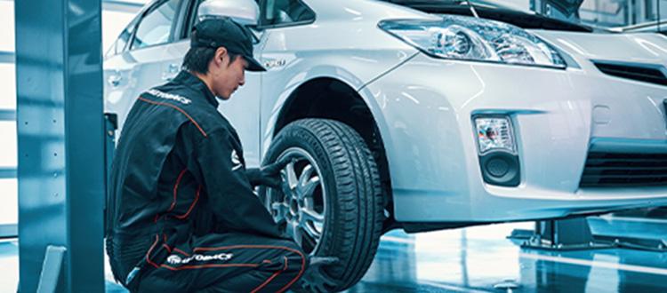 タイヤ交換イメージ
